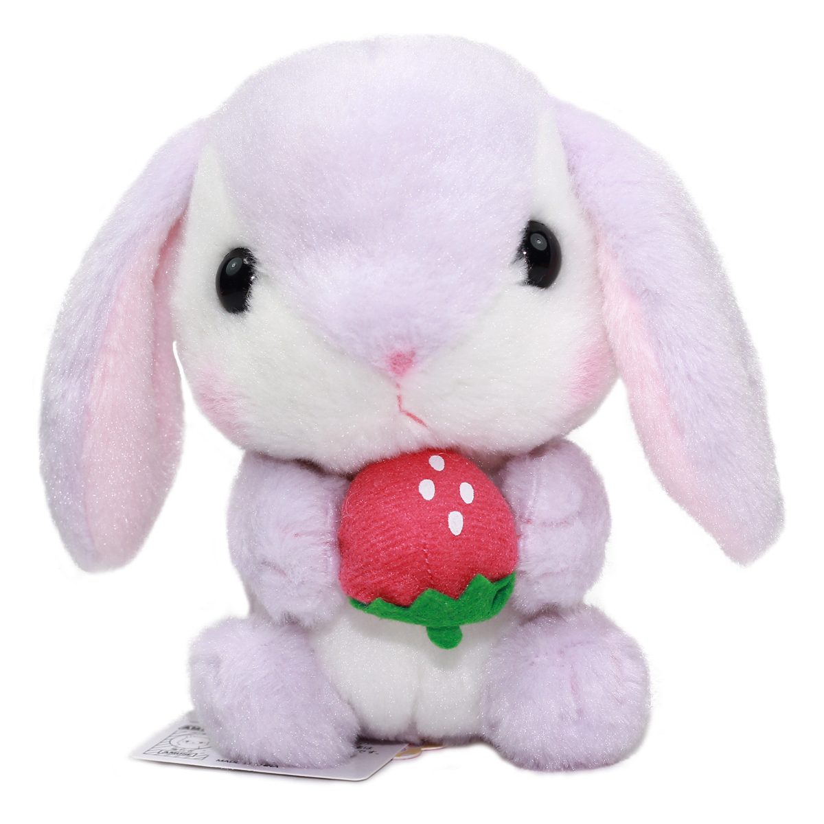 Amuse Bunny Plush Doll Sweet Garden Collection Cute Stuffed Animal Toy Purple/White 6 Inches