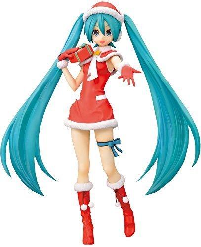 Hatsune Miku Figure, Christmas, Ver 1.5, F 2nd, Super Premium Figure, SPM, Vocaloid, Sega