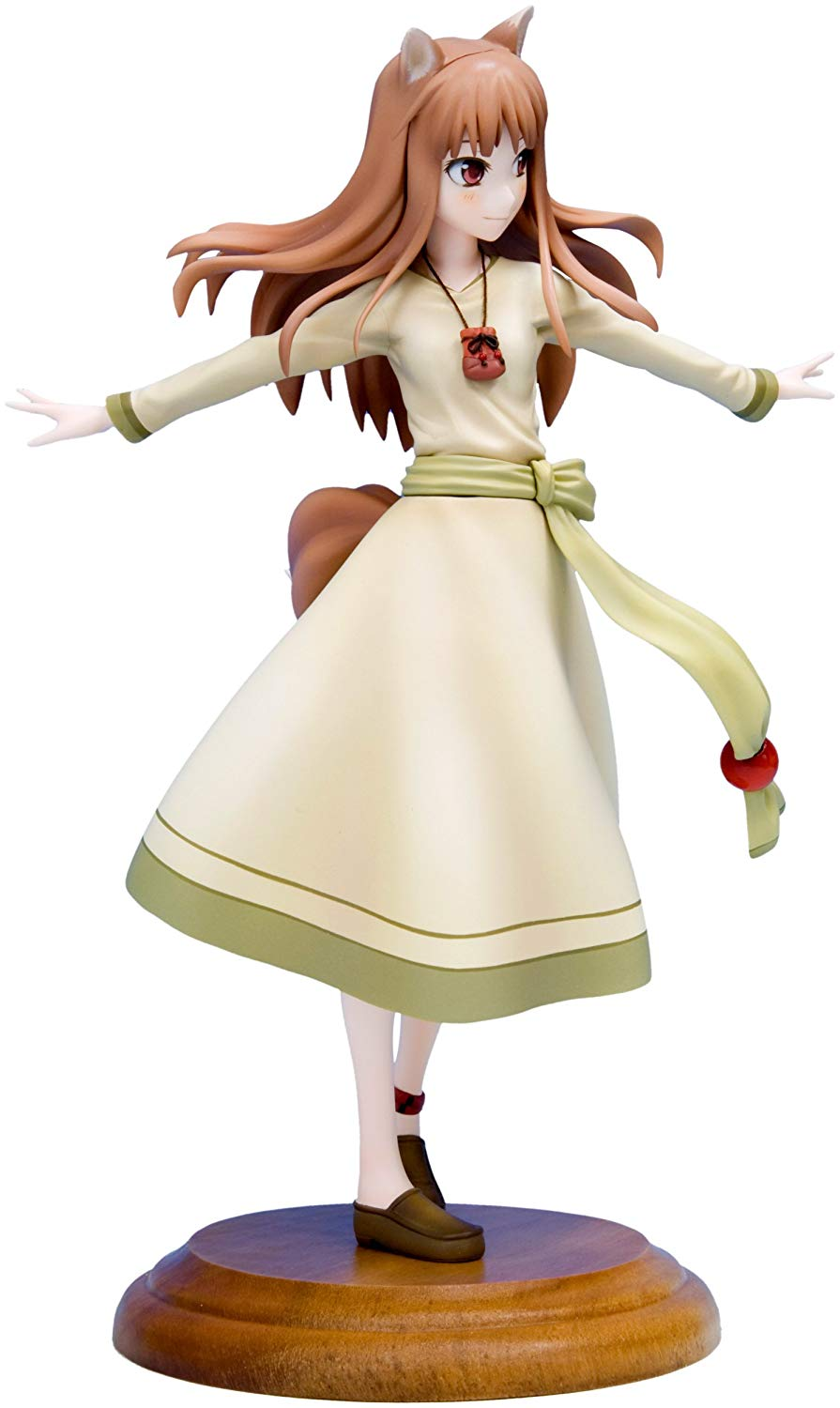 Holo, 1/8 Scale Pre-Painted Figure, Spice And Wolf Figure, Kotobukiya