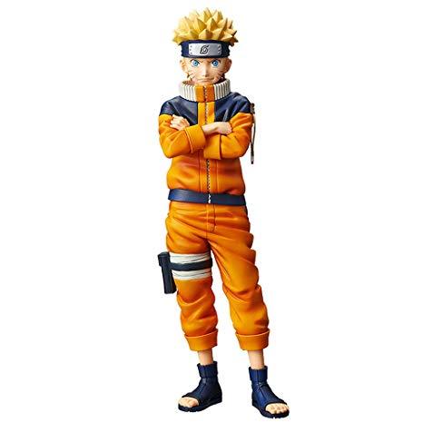 Naruto Uzumaki Figure #2, Shinobi Relations, Naruto, Grandista, Banpresto