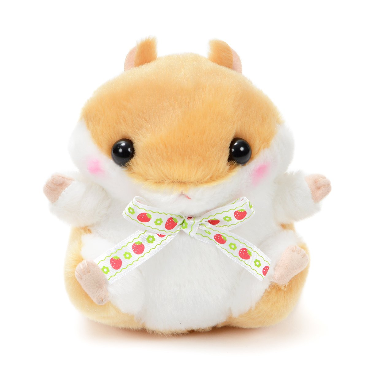 Plush Hamster, Amuse, Coroham Coron, Ichigo Hamster Plush Collection Coron, Light Brown, 5 Inches