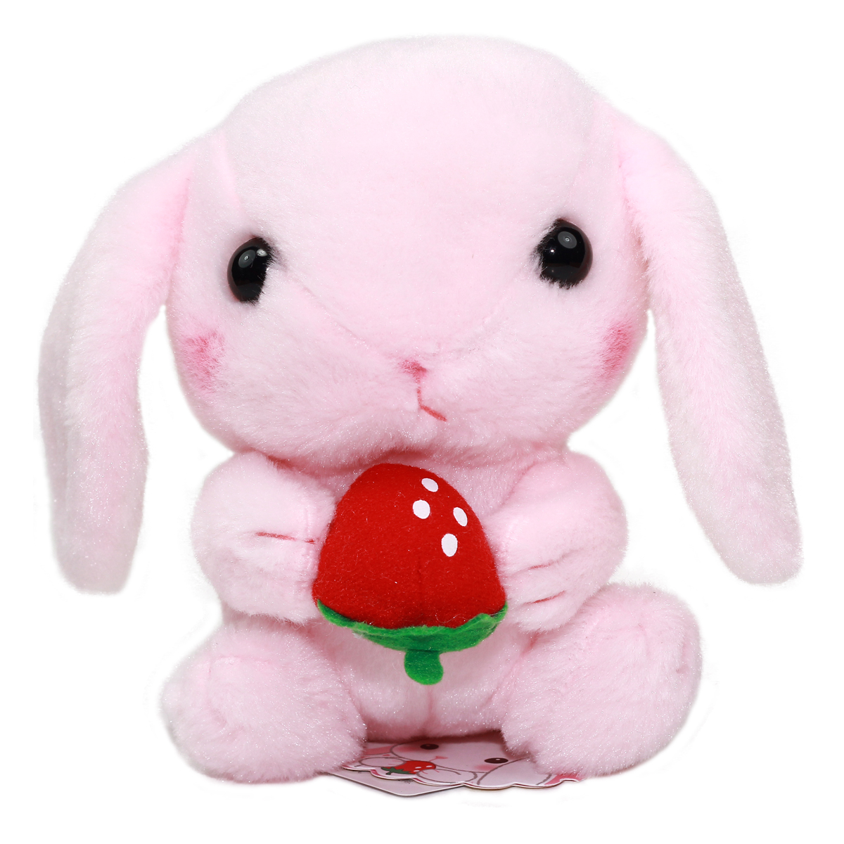 Amuse Bunny Plush Doll Sweet Garden Collection Cute Stuffed Animal Toy Pink 6 Inches