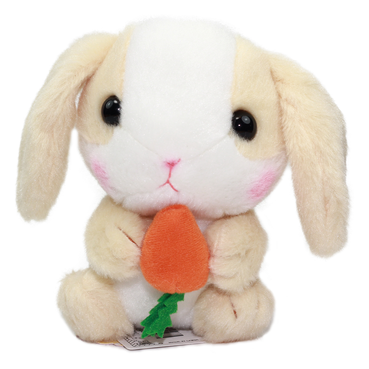 Amuse Bunny Plush Doll Sweet Garden Collection Cute Stuffed Animal Toy Beige/White 6 Inches