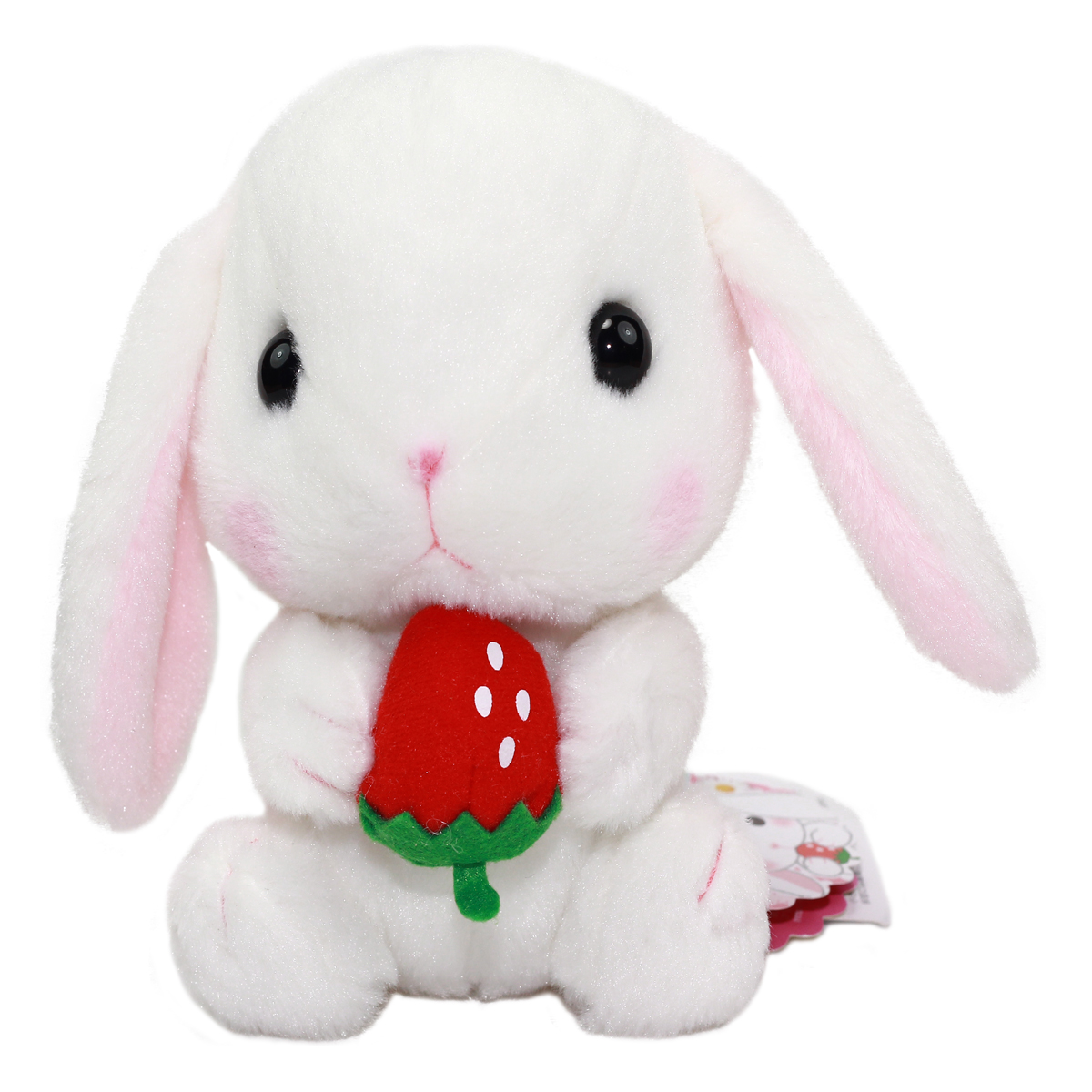 Amuse Bunny Plush Doll Sweet Garden Collection Cute Stuffed Animal Toy White 6 Inches
