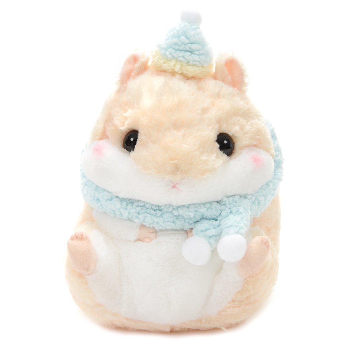 Hamster Plush Doll Amuse Coroham Coron Moko Moko Plush Collection Purin Beige BIG