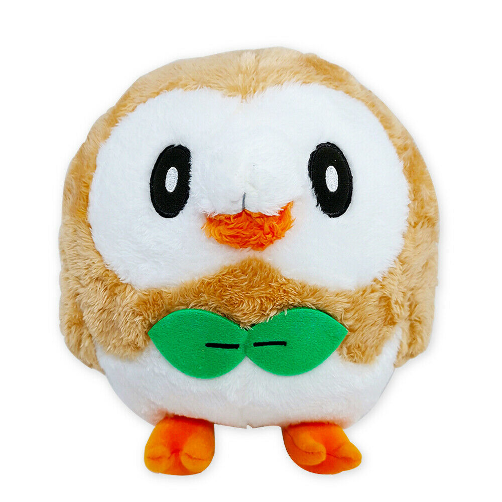 Banpresto, Sun & Moon, Pokemon, Furry, Rowlet, Plush Toy, 8 Inches
