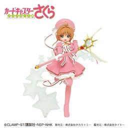 Sakura Kinomoto, Clear Card Figure, Cardcaptor Sakura, Taito