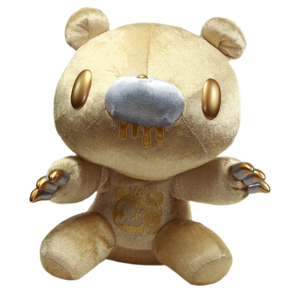 Gloomy Bear Plush Doll 20th Anniversary Gold GP #551 12 Inches Taito