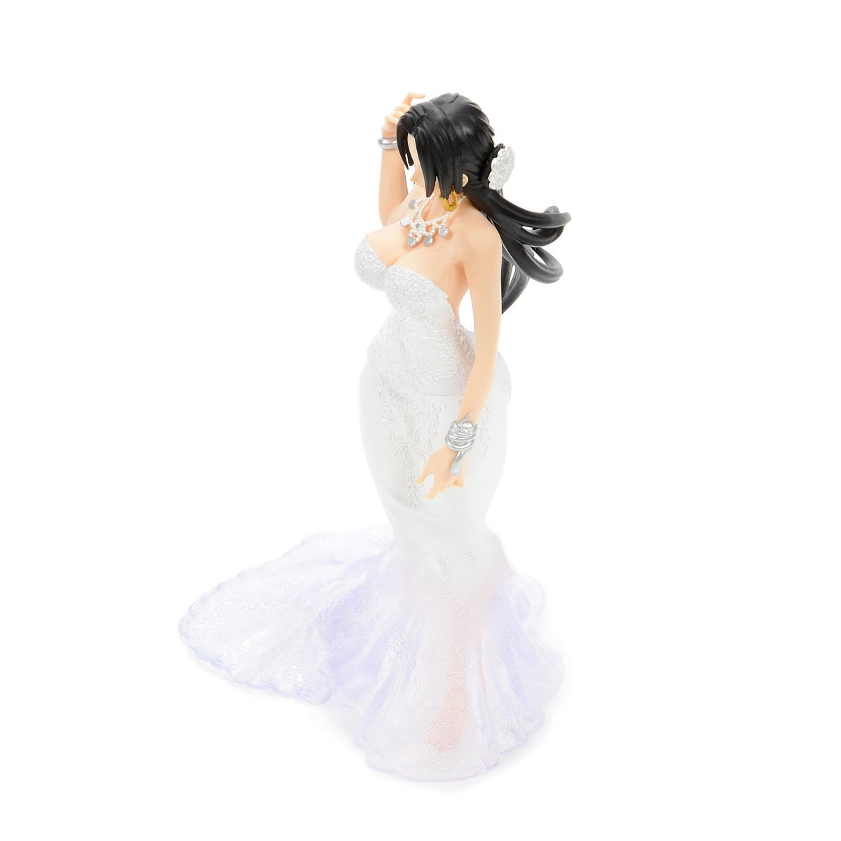 Banpresto One Piece Lady Edge Wedding Boa Hancock Figure A White Dress Bridal