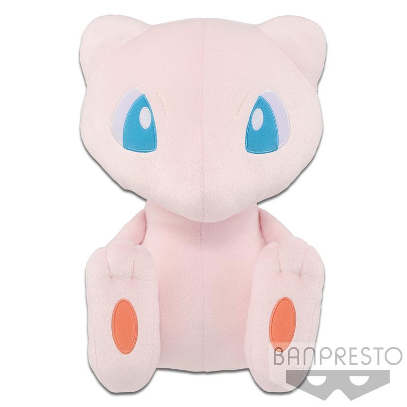 Banpresto Pokemon Focus Mew Plush Doll 15 Inches BIG Size