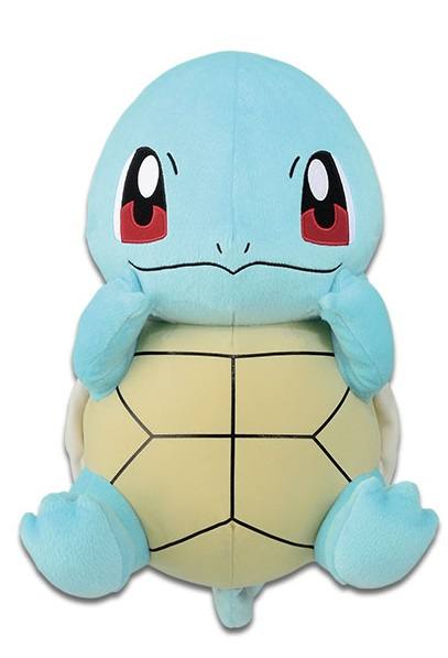 Pokemon Sun & Moon Squirtle Plush Doll 13 Inches Big Size Banpresto