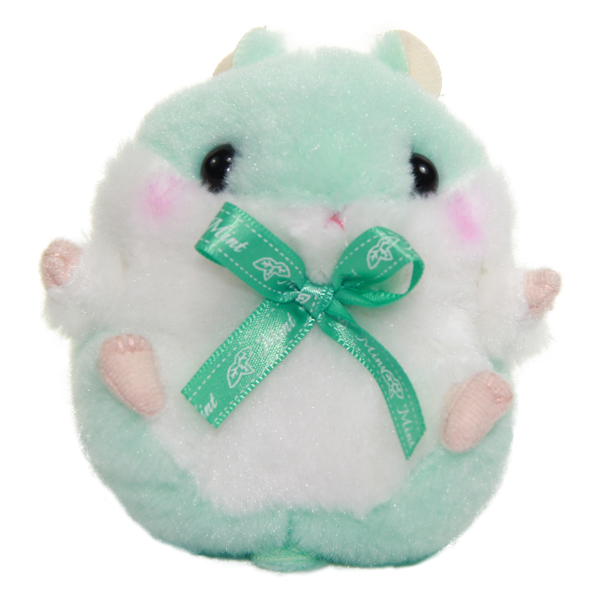 Plush Hamster, Amuse Colorful Fruits Plush Collection, Mint-chan, Green, 4 Inches