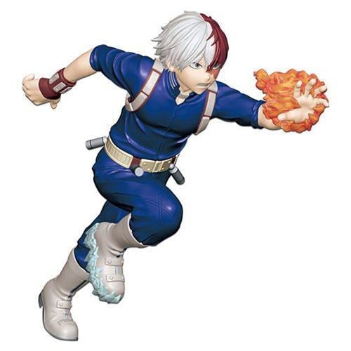 Shoto Todoroki Figure, Enter The Hero, My Hero Academia, Bandai