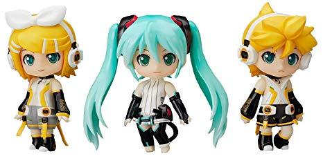 Vocaloid Set Append, Nendoroid Petit Figures, Miku, Rin, Len, Good Smile Company