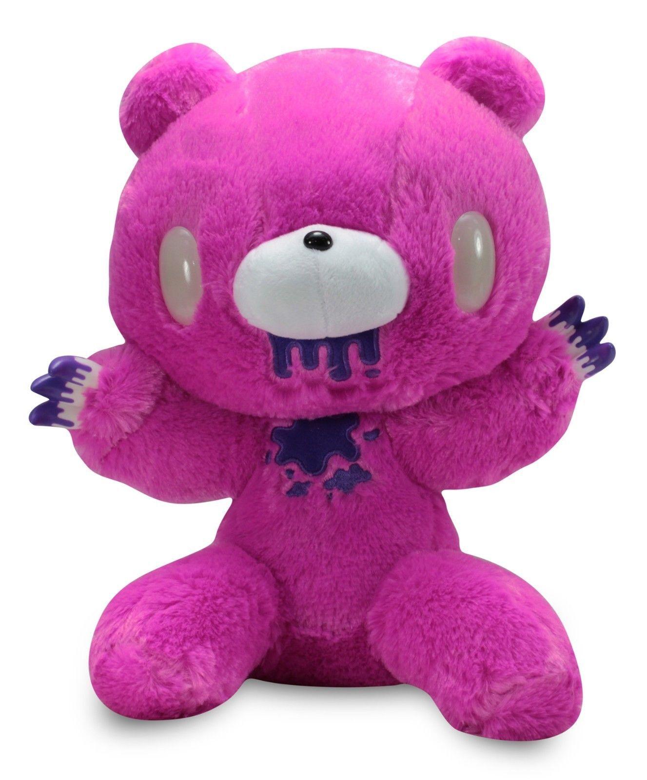 Taito Gloomy Bear Plush Dark Pink Purple 12 Inches