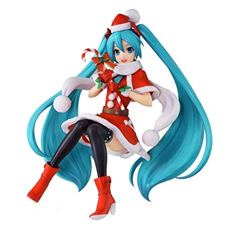Hatsune Miku Figure, Christmas 2018, Super Premium Figure, SPM, Vocaloid, Sega