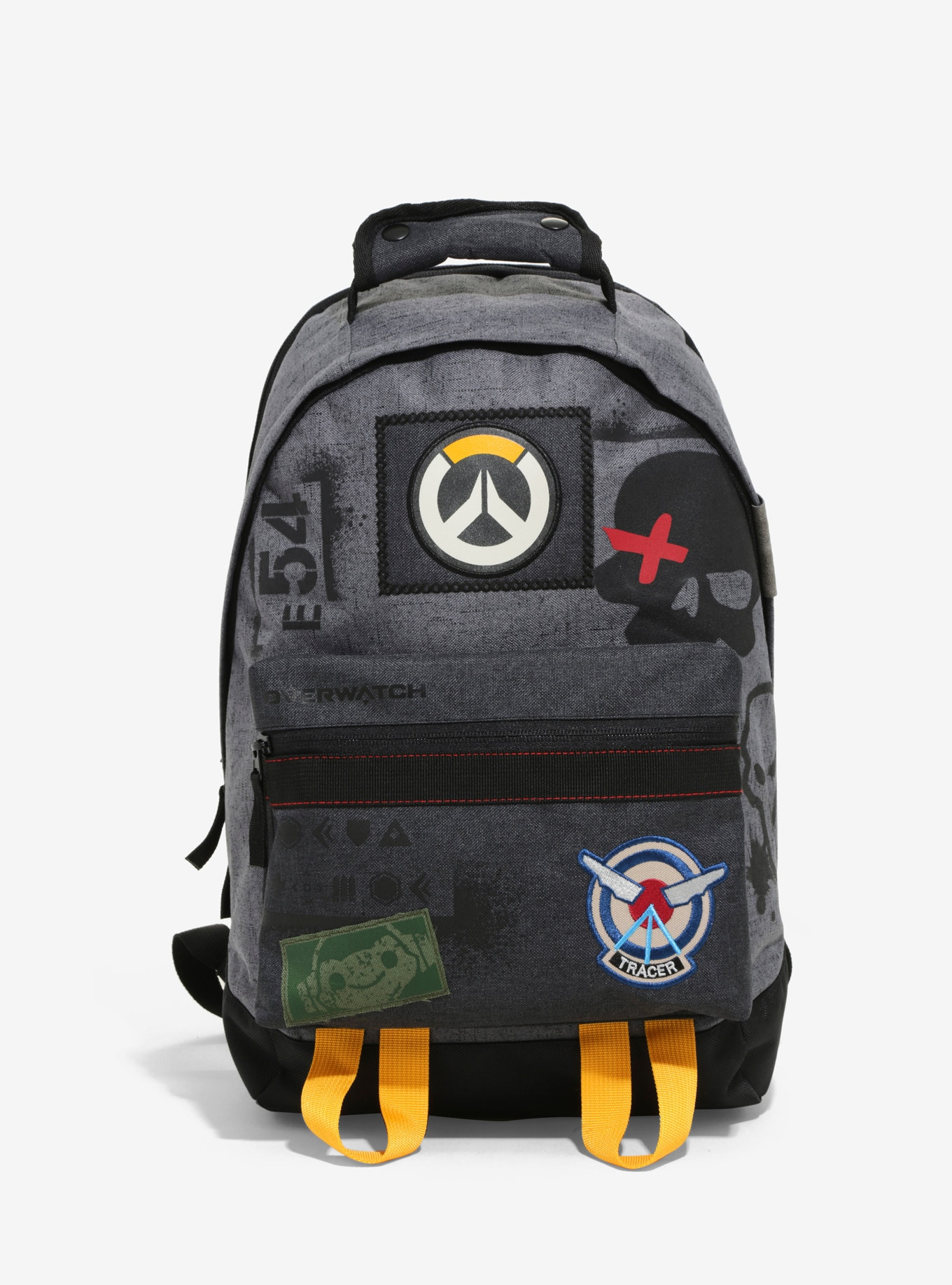 Overwatch Characters Patch Backpack Book Bag Tracer Soldier 76