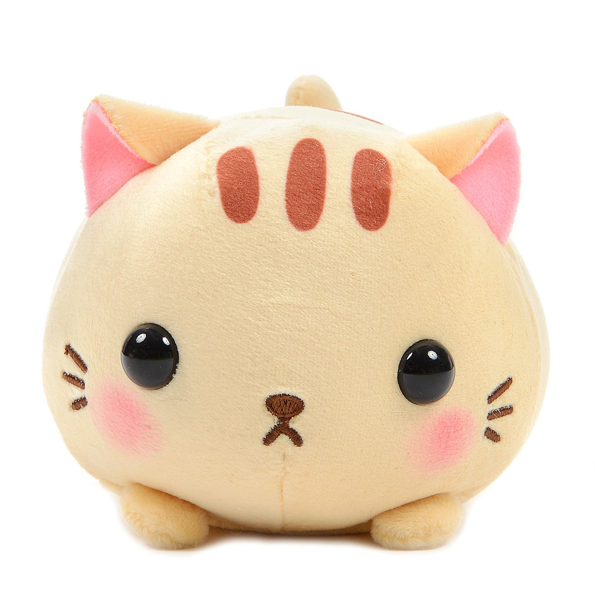 Mochikko Neko Nyanzu Orange Cat Plush Amuse Super Soft Japan Standard Size Tora-nyan