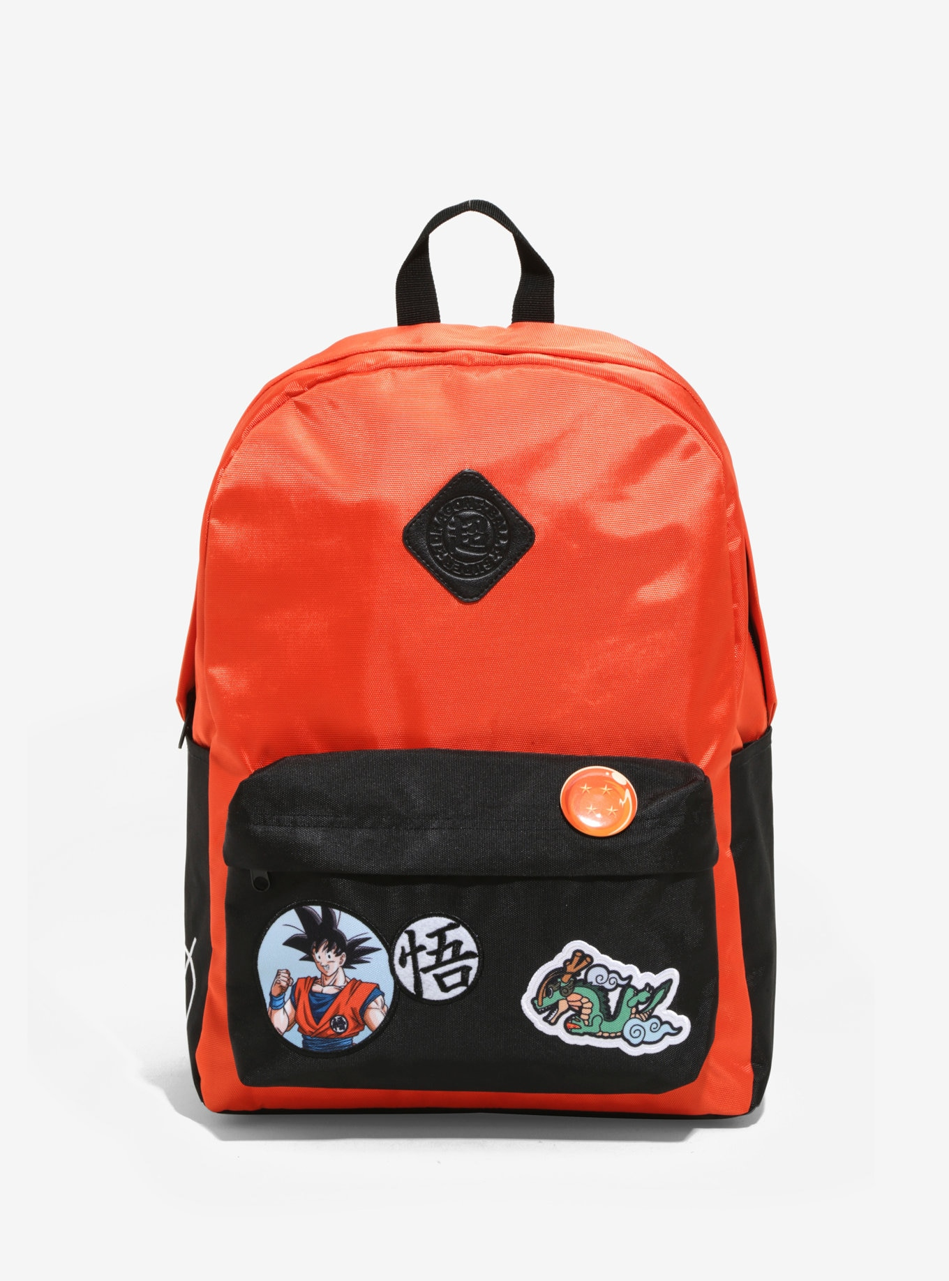 Bioworld Dragon Ball Super Patches Backpack Book Bag
