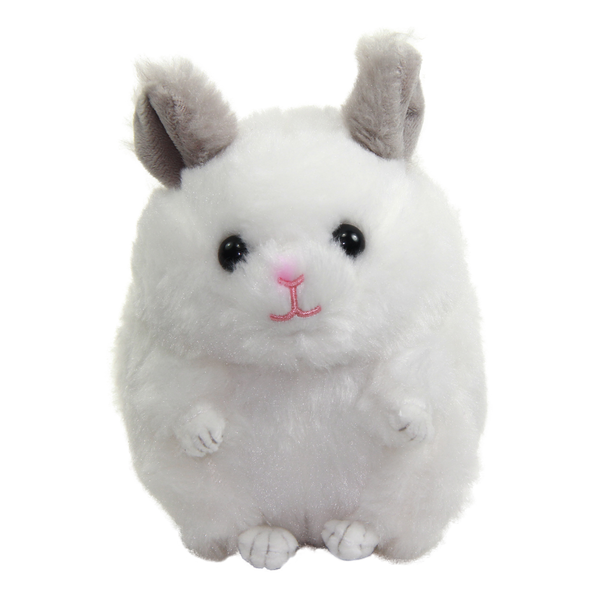 Chinchilla Plushie Kawaii Plush Collection White Standard Size 6 Inches
