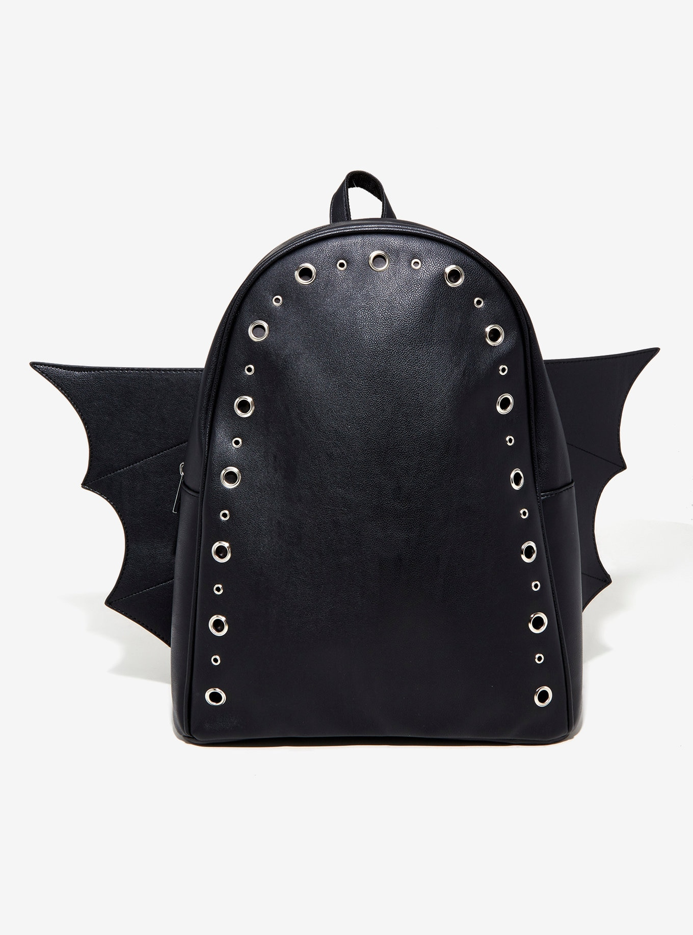 Gothic Black Bat Backpack Bag