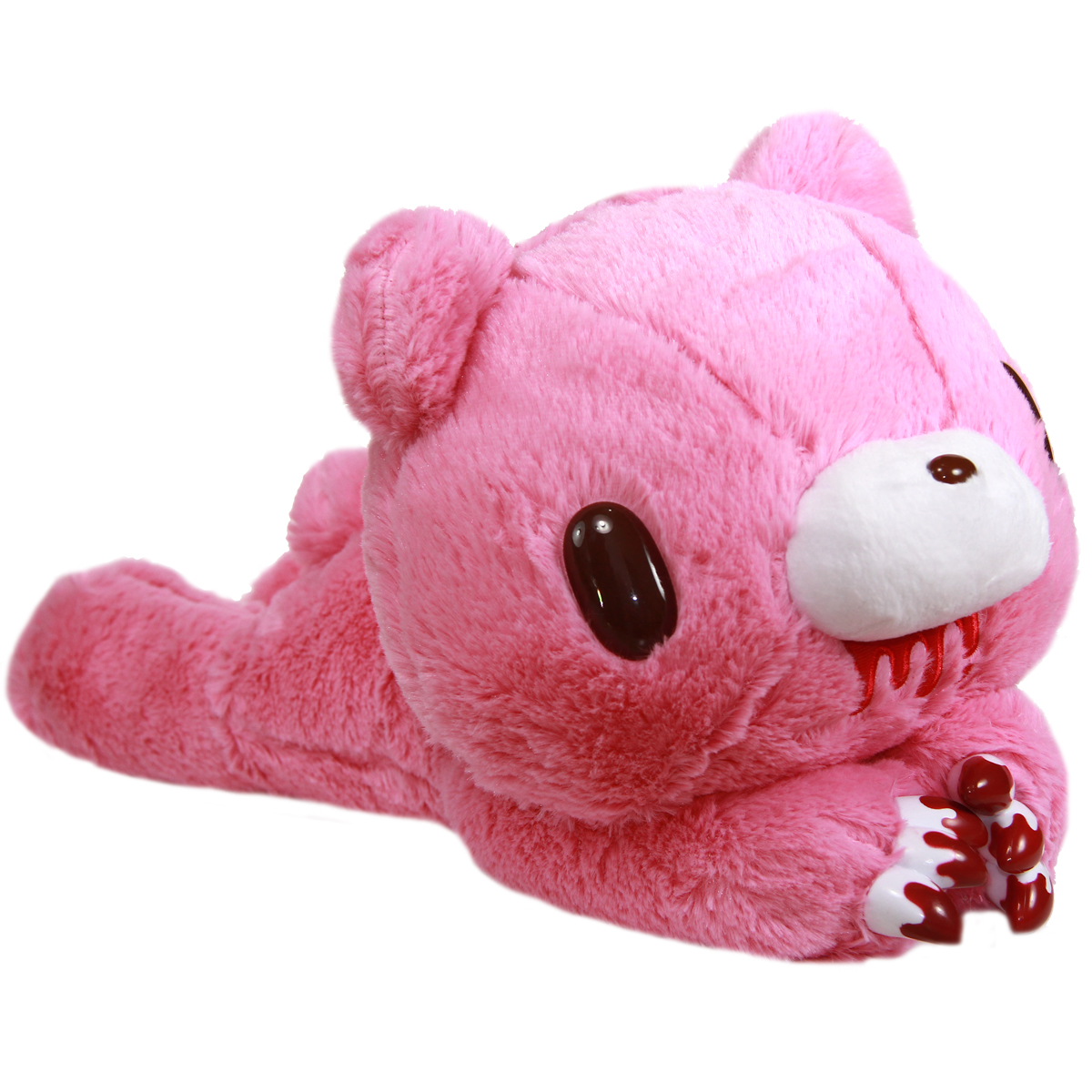 Gloomy Bear Plush Doll Laying Down GP #546 Pink 16 Inches Taito