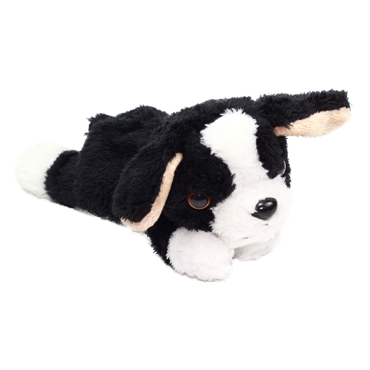 Kawaii Friends Dog Collection Black White Plush 9 Inches