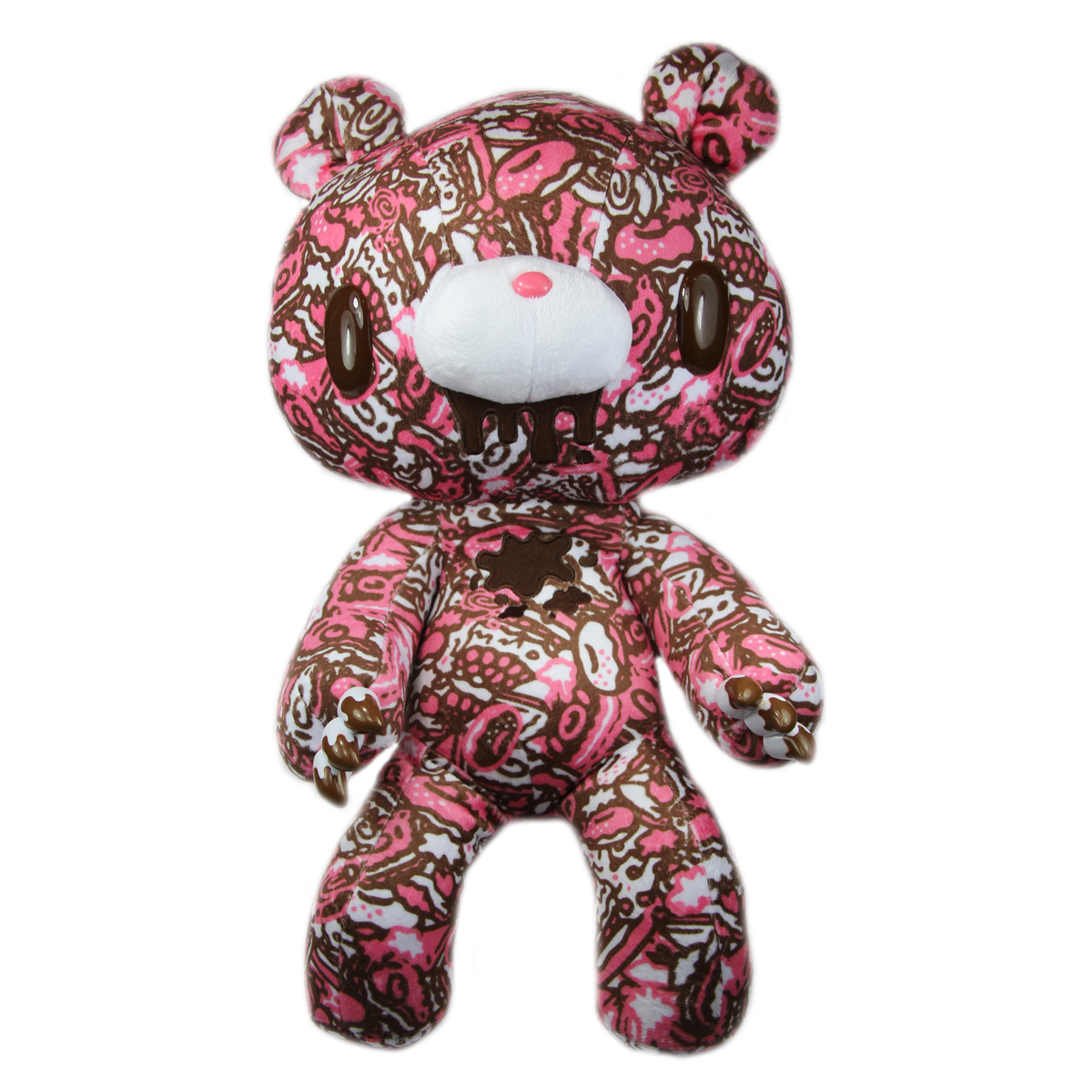 Taito Textillic Gloomy Bear Plush Doll Pink Brown GP #523 17 Inches