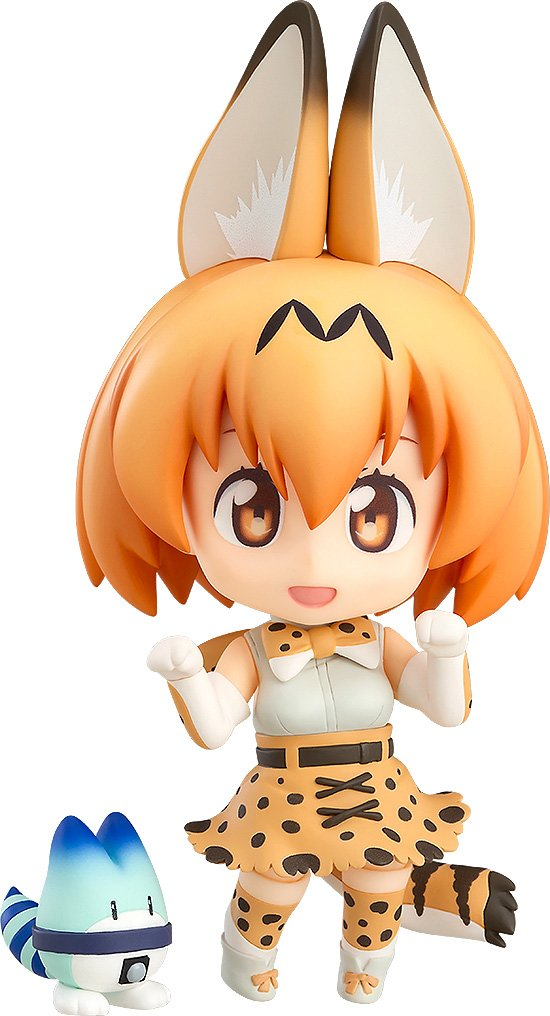 Serval & Lucky Beast, Nendoroid 752 Figure, Kemono Friends, Good Smile Company
