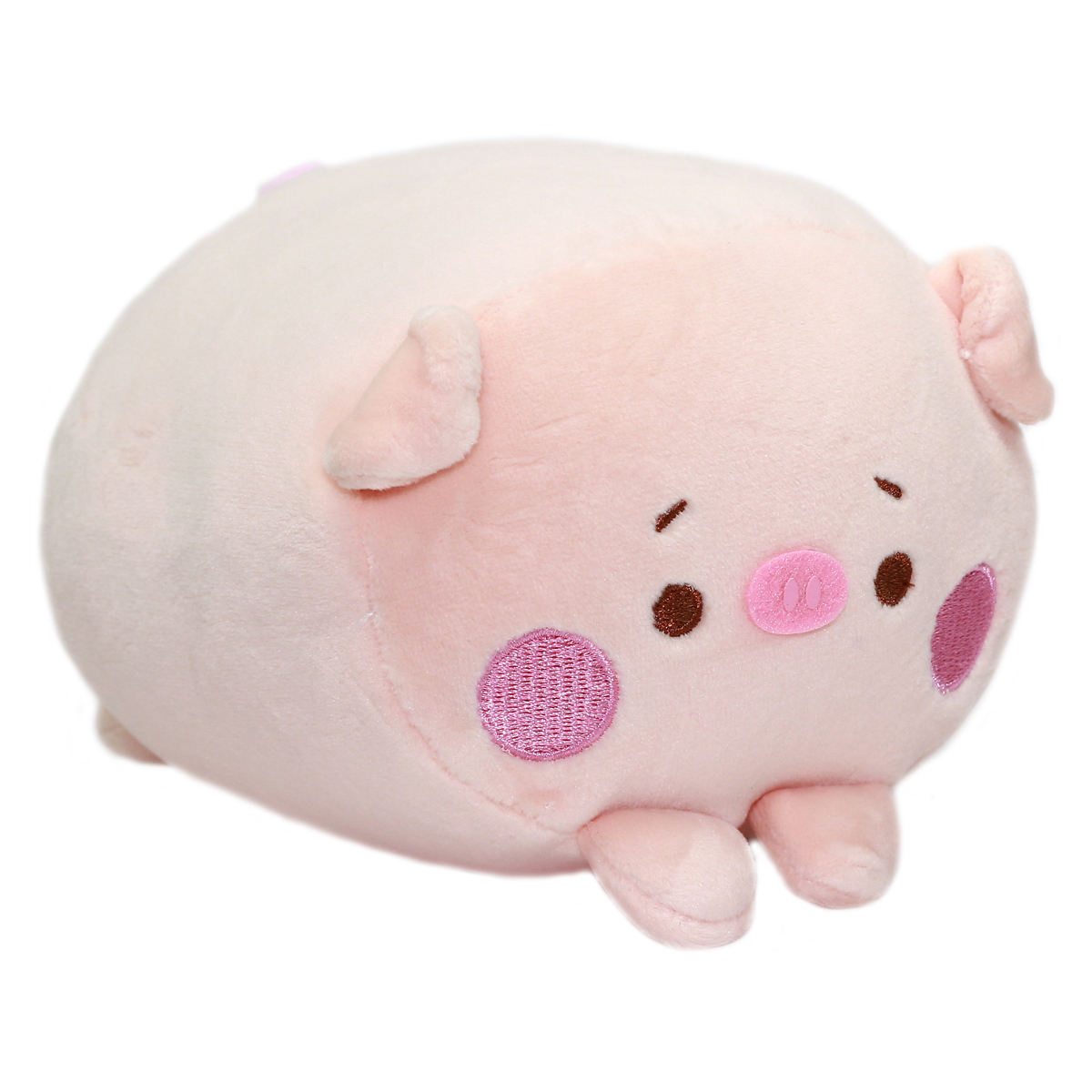 Soft & Squishy Big Bad Wolf Plush Collection Pig Pink 6 Inches