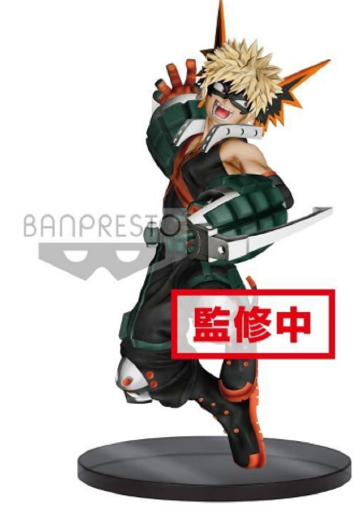 Katsuki Bakugo Figure, The Amazing Heroes Vol. 3, My Hero Academia, Banpresto
