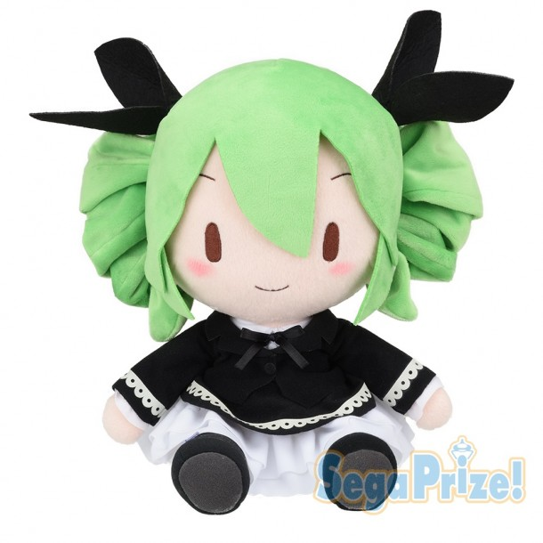 Vocaloid Hatsune Miku Arcade Future Tone Dark Angel Plush Doll 11 Inches Big Size Sega