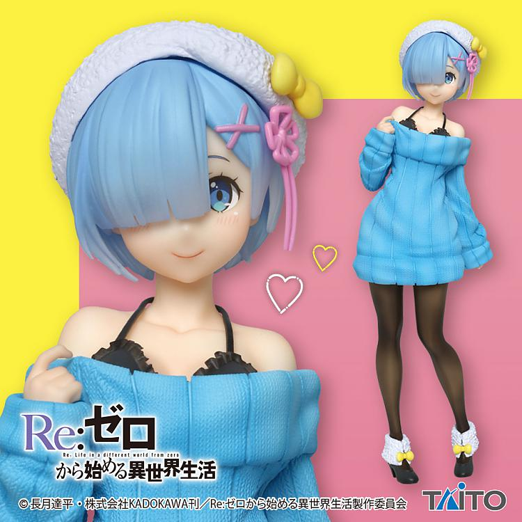 Rem Precious Sweater Figure, Re:Zero - Starting Life in Another World, Taito
