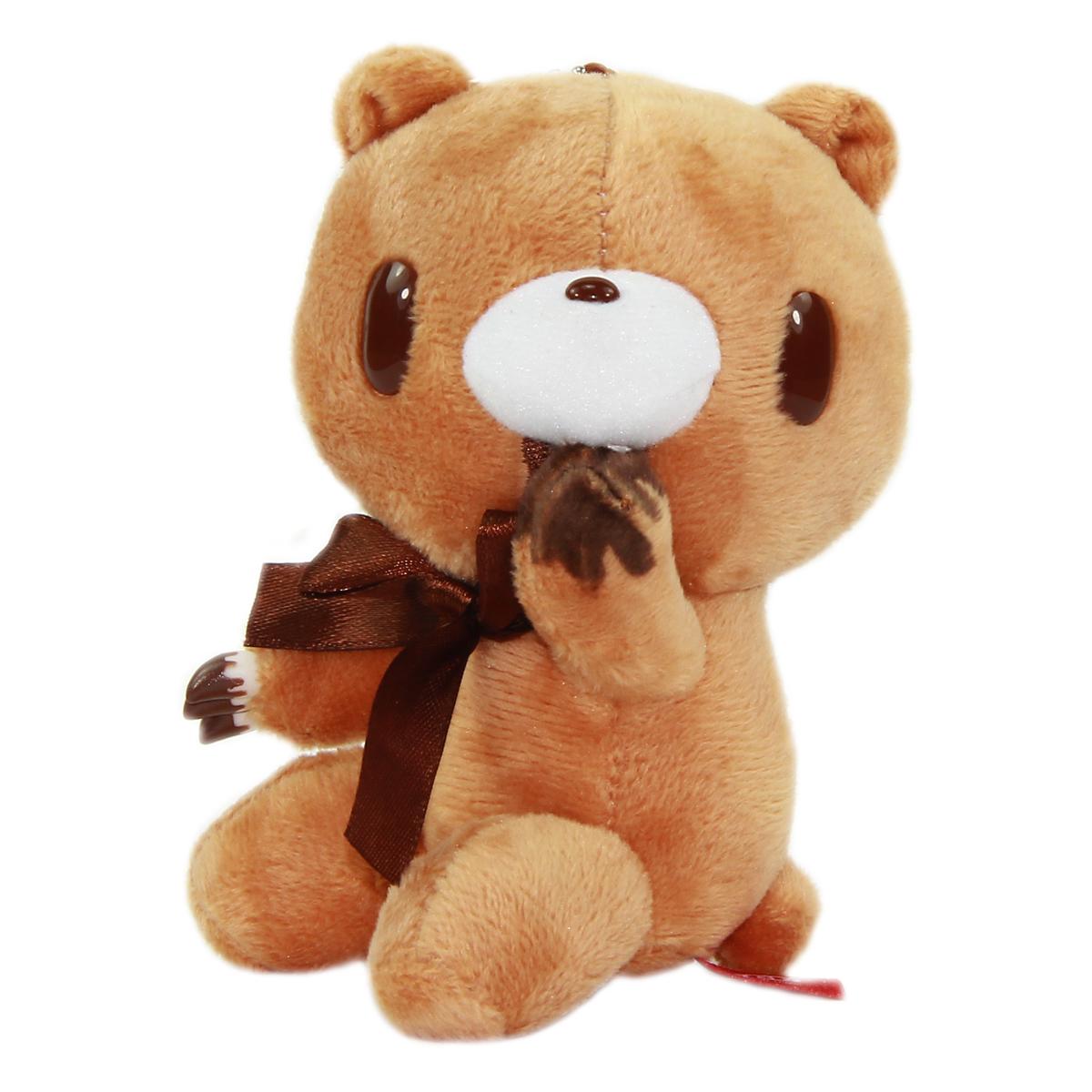 Taito Gloomy Bear Plush Doll Chocolate Sweet V & W Stuffed Animal Japan Brown