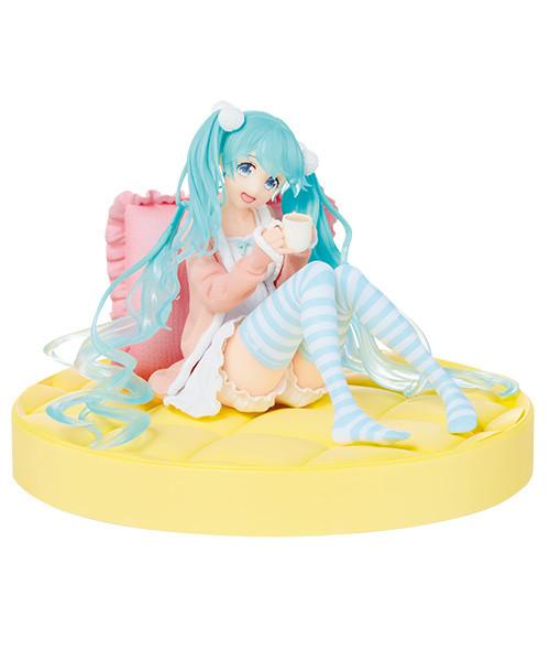 Hatsune Miku Sitting Figure, Original Shifuku Ver. , Vocaloid, Taito