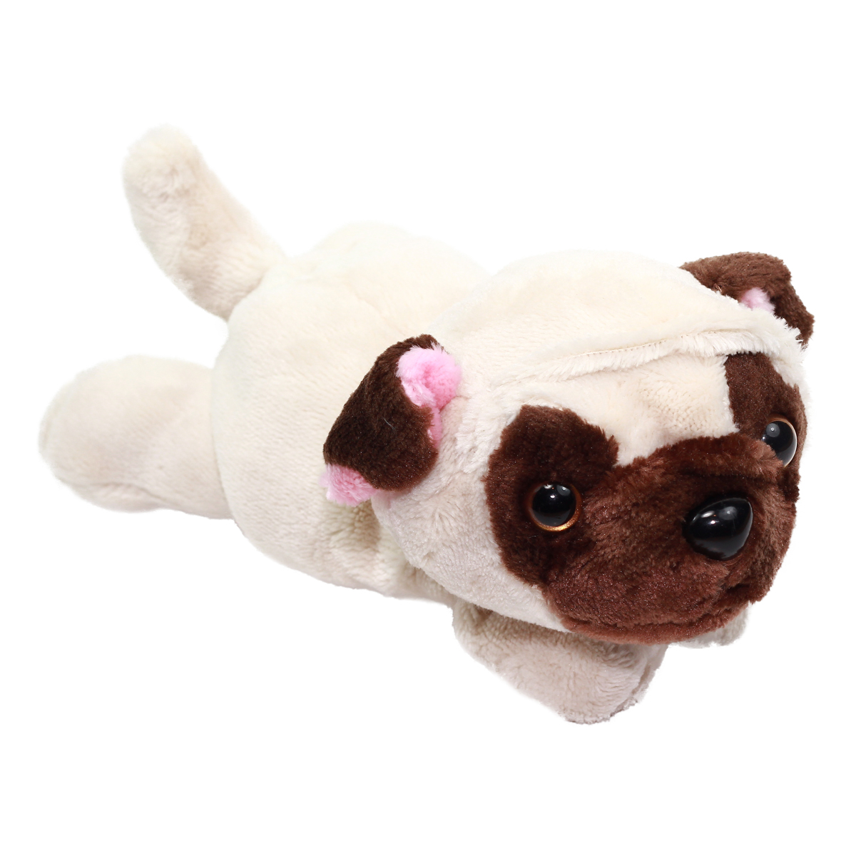 Kawaii Friends Dog Collection Beige Pug Plush 9 Inches