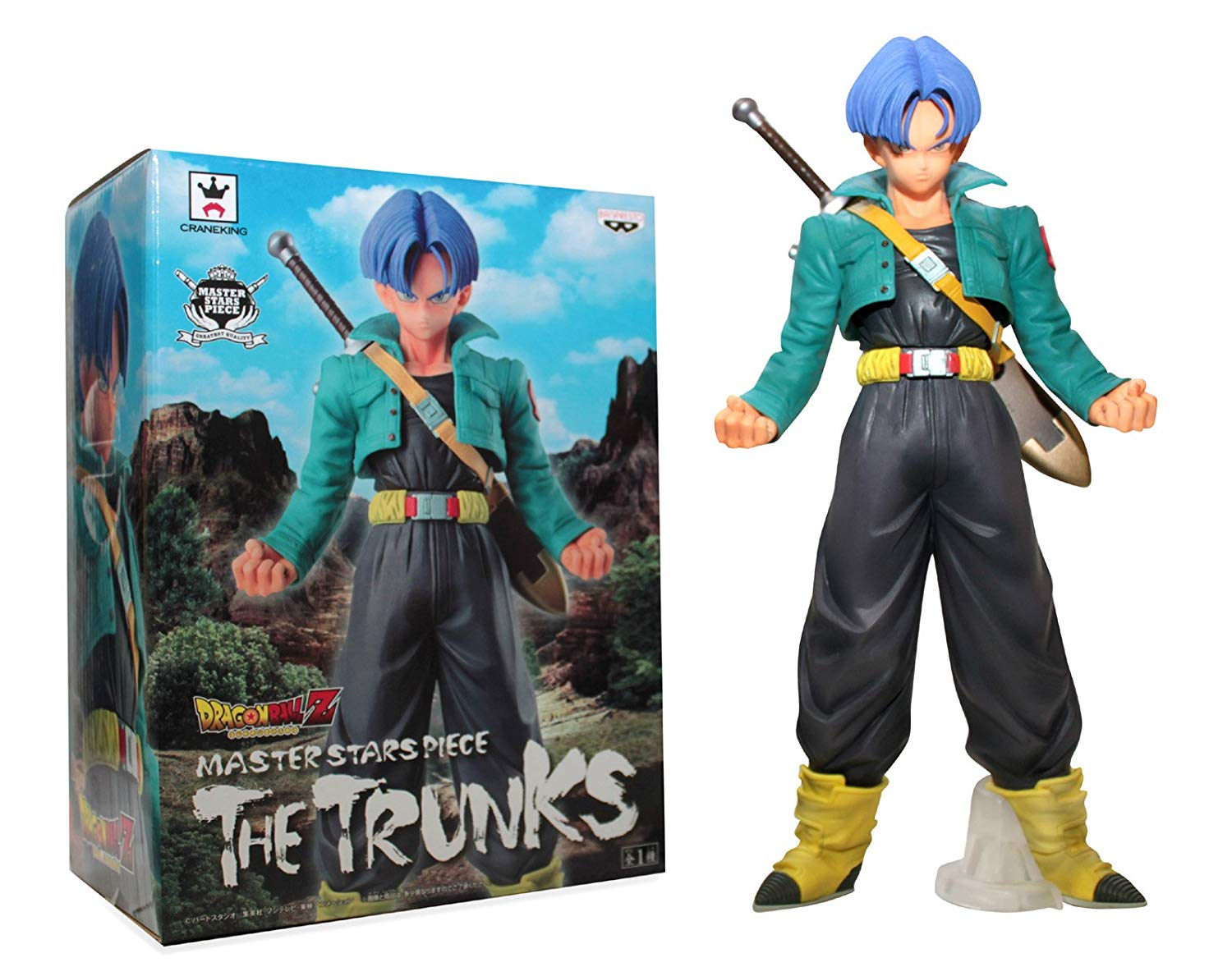 The Trunks Figure, Master Stars Piece, Dragon Ball Z, Banpresto