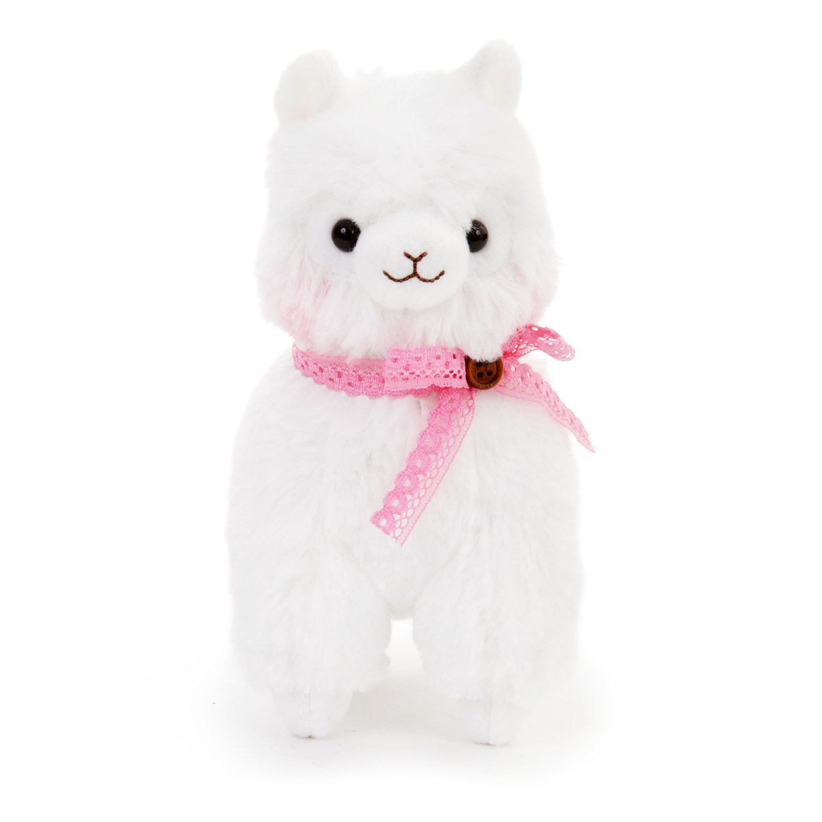 Plush Alpaca, Amuse, Alpacasso, Shiro-chan, White, 6 Inches
