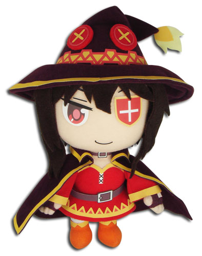 Megumin, Plush Doll, KonoSuba Gods blessing on this wonderful world!, 10 Inches, Great Eastern Entertainment
