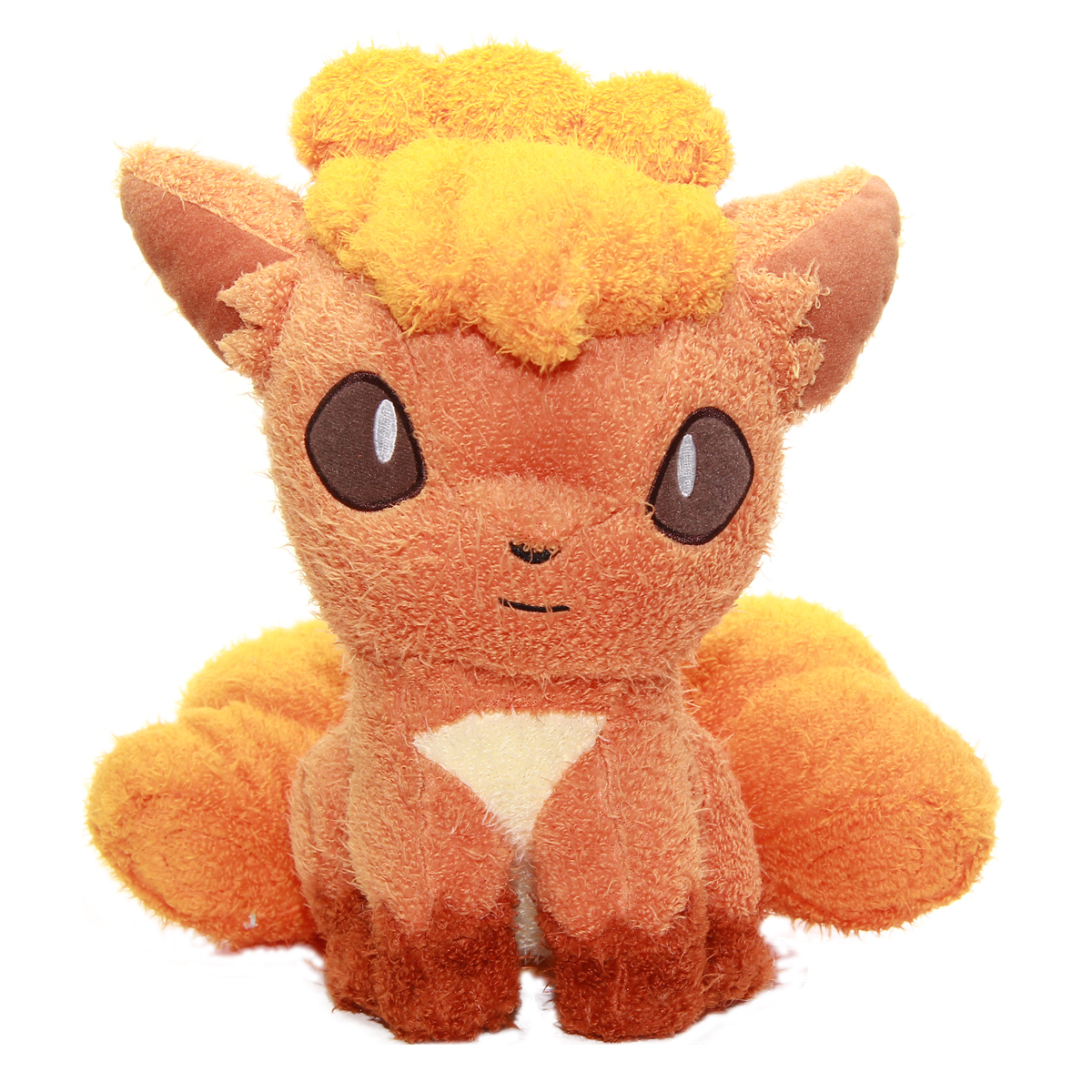 Pokemon Spirits Fuzzy Sitting Vulpix Plush Doll 10 Inches Banpresto