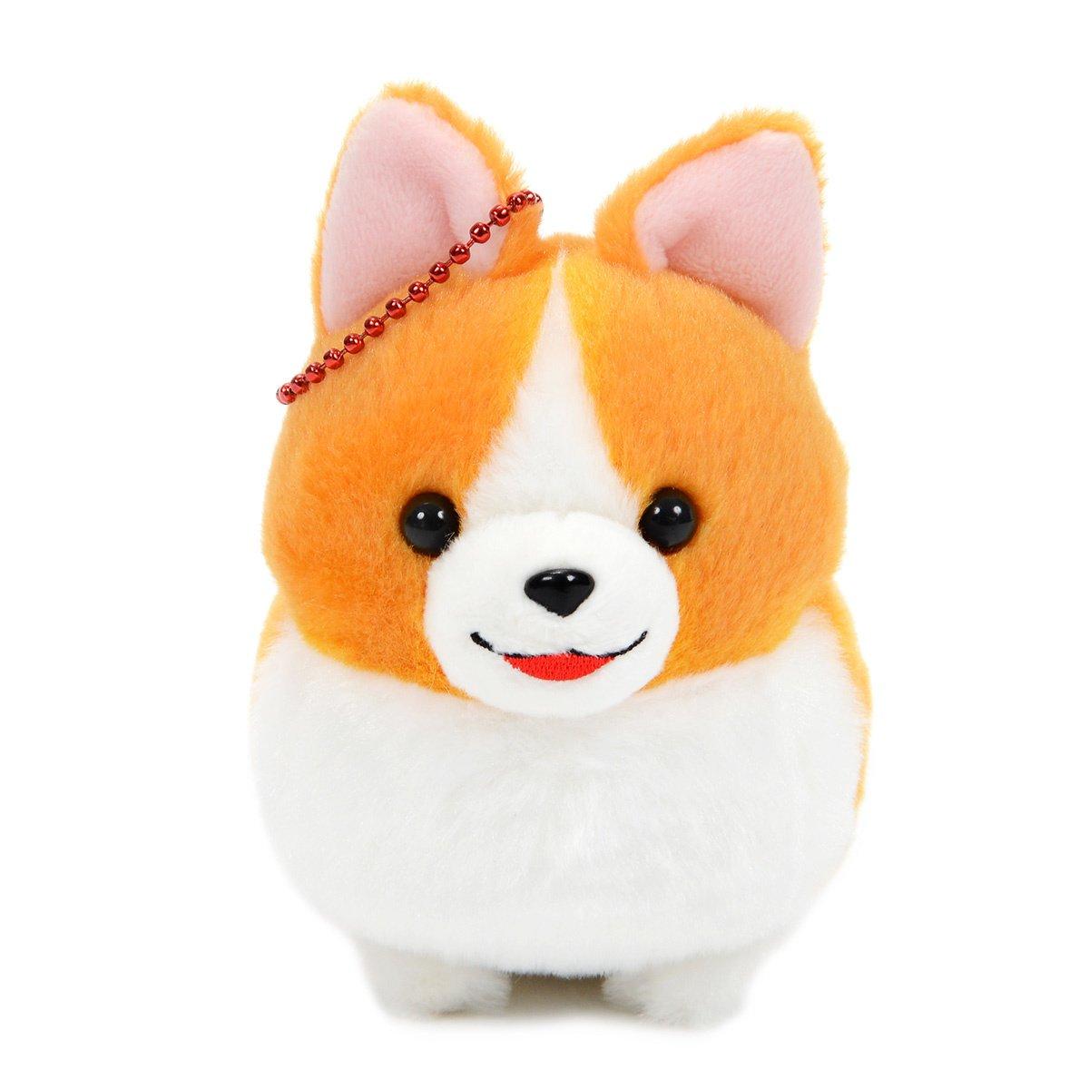Amuse Ichi Ni no Corgi Plush Collection Small Dog Plush Ichi 4 Inches