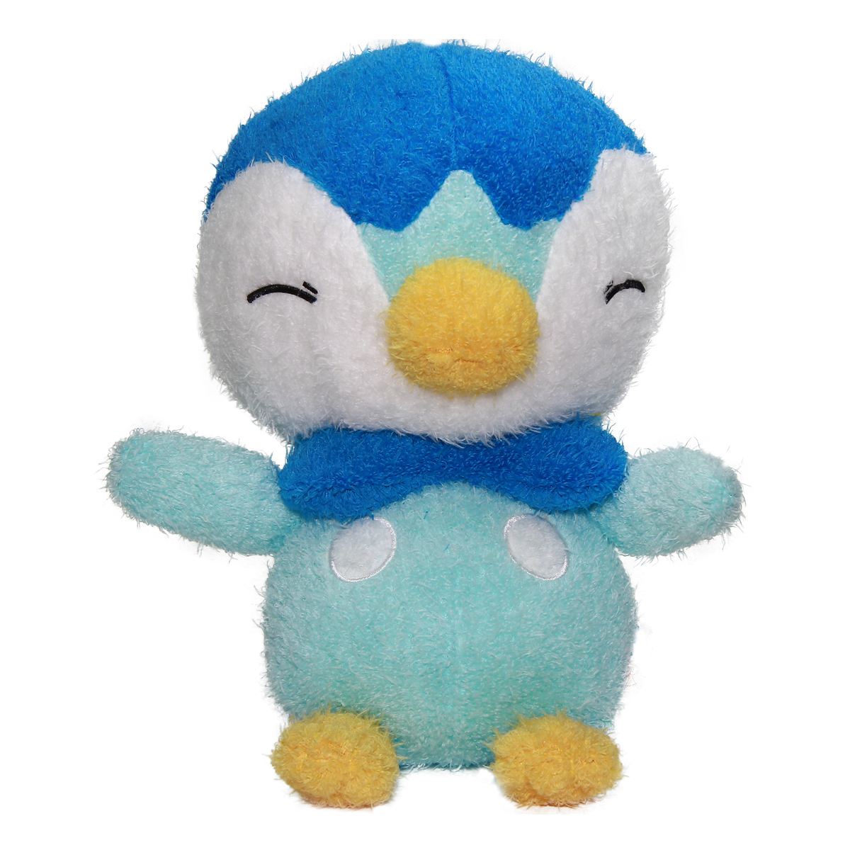 Pokemon Spirits Fuzzy Piplup Plush Doll 12 Inches Banpresto