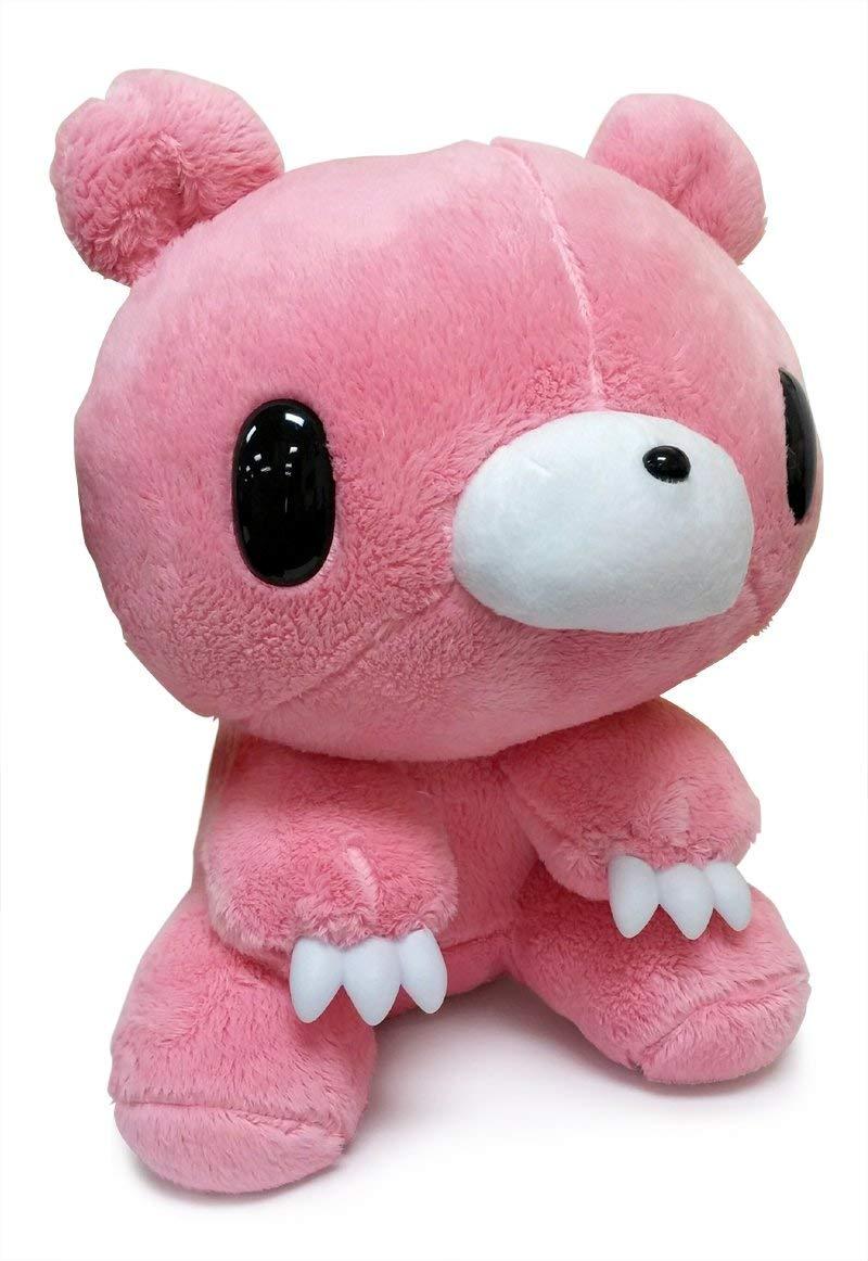 Taito Gloomy Bear Plush Doll Monotone Pink 11 Inches