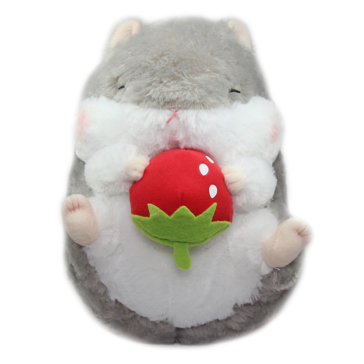 Hamster Plush Doll Amuse Coroham Coron Ichigo Collection Grey Jumbo 10 Inches