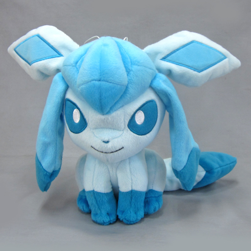 Pokemon Sun & Moon Glaceon Plush Doll 10 Inches Banpresto