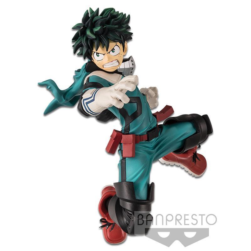 Izuku Midoriya Figure, The Amazing Heroes Vol. 1, My Hero Academia, Banpresto