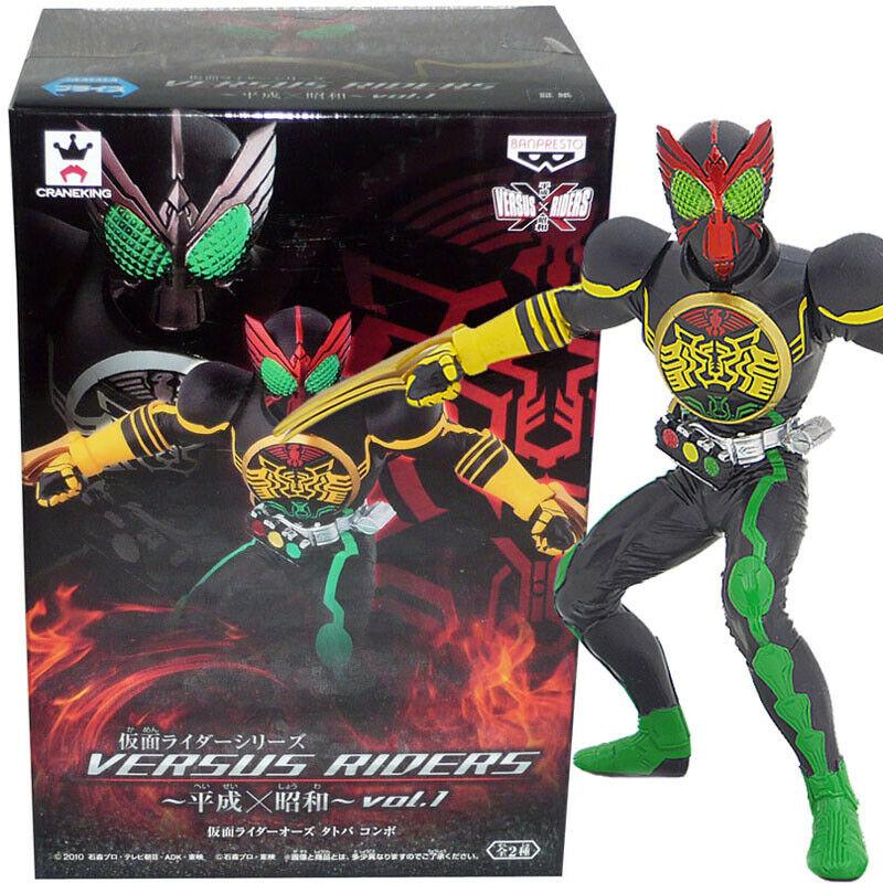 Kamen Rider OOO, Tatoba Combo Figure, Kamen Rider, Versus Riders series, Banpresto