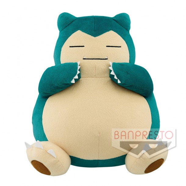Pokemon Sun & Moon Snorlax Plush Doll 16 Inches Banpresto