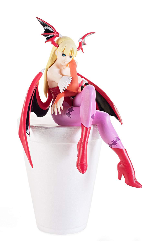 Morrigan, Noodle Stopper Figure, Red Color, Vampire Savior, Furyu
