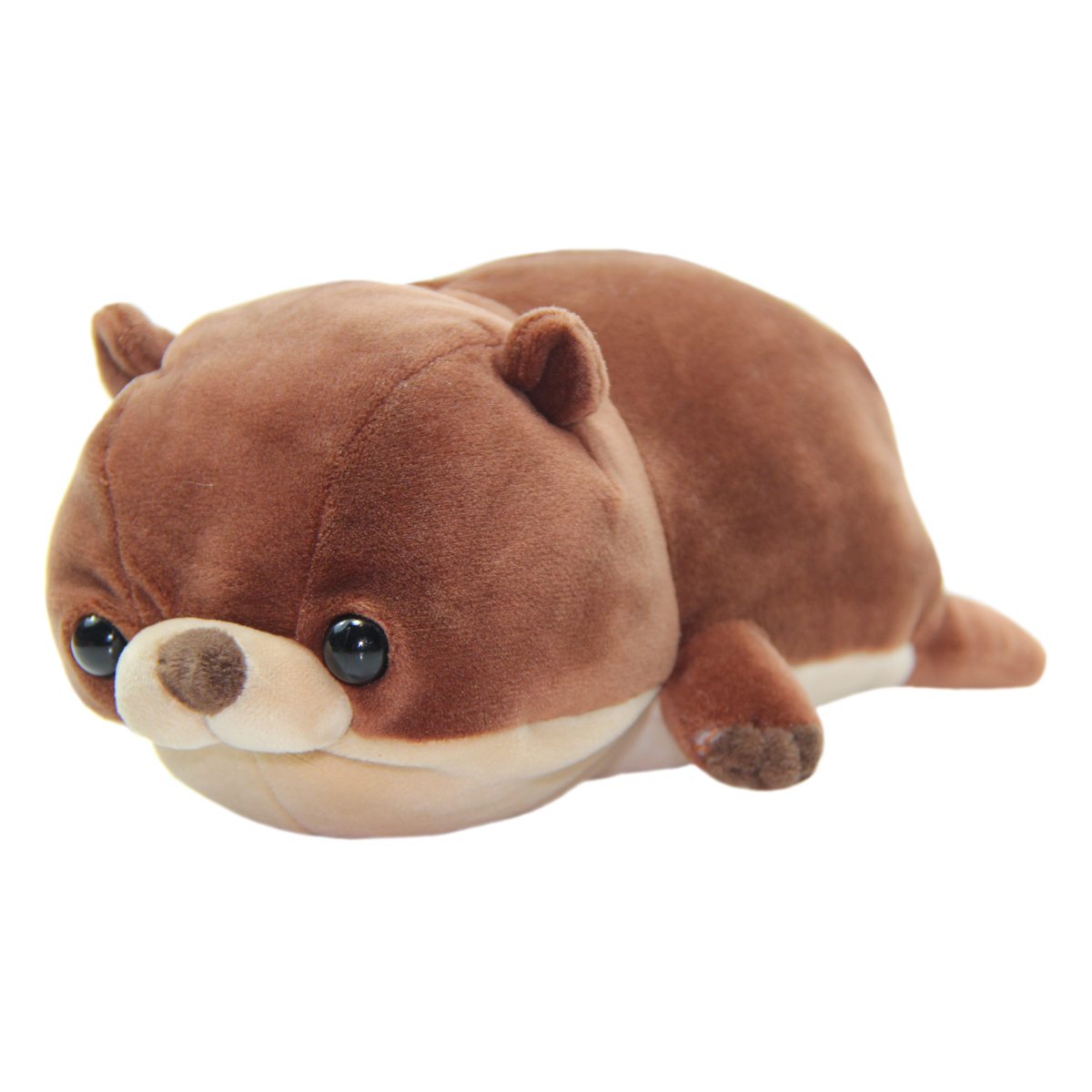 Mochi Puni Kawauso Collection Super Soft Otter Plush Toy Brown 8 Inches